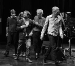 Marc Muellbauer, Anna-Lena Schnabel, Tom Arthurs, Julia Hülsmann, Heinrich Köbberling | Berlin, 2016